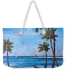 Island Paradise Weekender Tote Bag by Lloyd Dobson