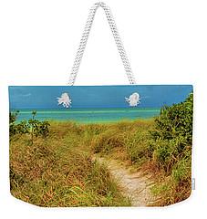 Island Path Weekender Tote Bag