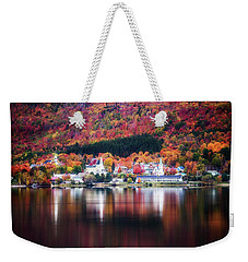 Island Pond Vermont Weekender Tote Bag by Sherman Perry