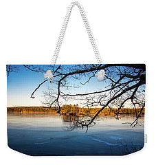 Island Reflection Weekender Tote Bag