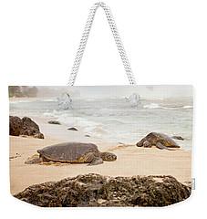 Island Rest Weekender Tote Bag by Heather Applegate