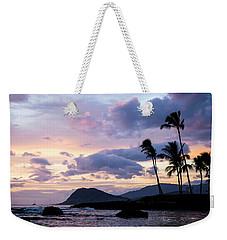 Island Silhouettes  Weekender Tote Bag by Heather Applegate