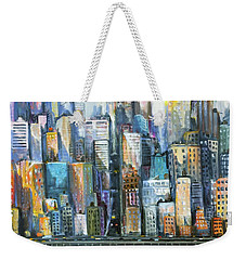 Island Sunrise Weekender Tote Bag