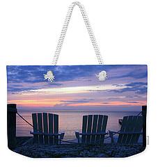 Island Time Weekender Tote Bag by Catherine Alfidi