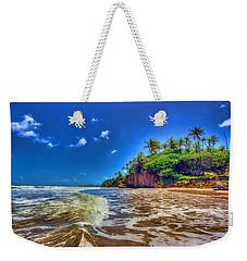 Island Wave Weekender Tote Bag