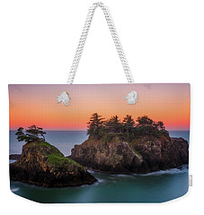 Weekender Tote Bag featuring the photograph Islands In The Sea by Darren White