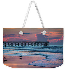 Isle Of Palms Morning Weekender Tote Bag