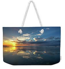Isle Of Palms Sunrise Reflection Weekender Tote Bag
