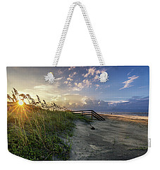 Isle Of Palms Sunstar Weekender Tote Bag