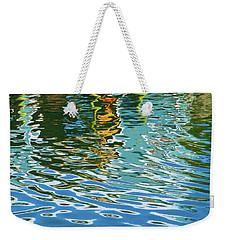 Isleford Dock Reflection Weekender Tote Bag