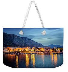 Isola Delle Femmine Harbour Weekender Tote Bag