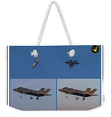 Israeli Air Force First Two F-35i Adir Weekender Tote Bag