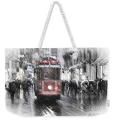 Istambool Historic Tram Weekender Tote Bag