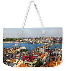 Istanbul Cityscape Weekender Tote Bag