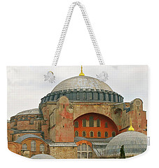 Weekender Tote Bag featuring the photograph Istanbul Dome by Munir Alawi