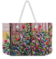 Istanbul Window Weekender Tote Bag by Lou Ann Bagnall