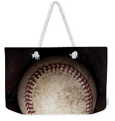 It Ain't Over Till It's Over - Yogi Berra Weekender Tote Bag by David Patterson