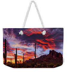 Weekender Tote Bag featuring the photograph It Is Accomplished by Rick Furmanek