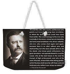 It Is Not The Critic Weekender Tote Bag