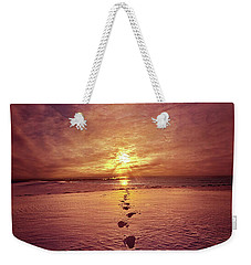 Weekender Tote Bag featuring the photograph It Is Then That I Carried You by Phil Koch