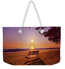Weekender Tote Bag featuring the photograph It Is Words With You I Seek by Phil Koch