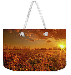 Weekender Tote Bag featuring the photograph It Just Is by Phil Koch