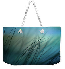 It Takes Courage To Stay Delicate Weekender Tote Bag