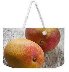 It Takes Two To Mango Weekender Tote Bag by Elena Elisseeva