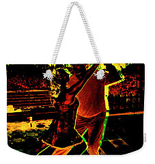 Weekender Tote Bag featuring the photograph It Takes Two To Tango by Al Bourassa