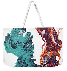 It Takes Two To Tango  Weekender Tote Bag