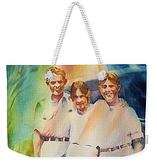 It Was Paradise Here With You Weekender Tote Bag