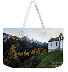 Weekender Tote Bag featuring the photograph Italian Alps I by Yuri Santin