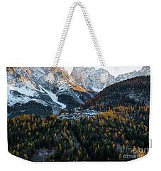 Italian Alps II Weekender Tote Bag by Yuri Santin