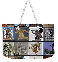 Weekender Tote Bag featuring the photograph Italian Angels by Tim Mattox