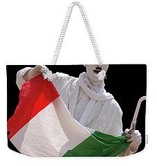 Italian Charlie Chaplin Weekender Tote Bag