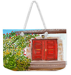 Italian Country Door Entrance Weekender Tote Bag