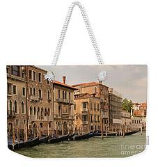 Italian Gondolas Weekender Tote Bag by Loriannah Hespe