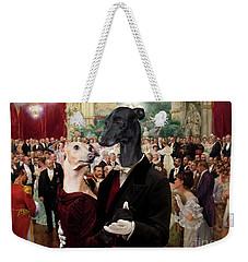 Italian Greyhound Art Canvas Print - Beautiful City Dance Hall Vienna Wilhelm Gause Weekender Tote Bag