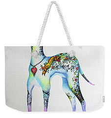 Italian Greyhound Tattoo Dog Weekender Tote Bag