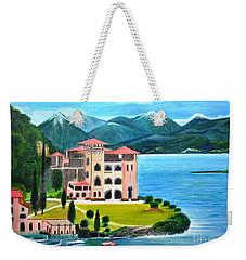 Italian Landscape-casino Royale Weekender Tote Bag