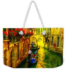 Italian Red Weekender Tote Bag