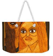 Italian Sisters Weekender Tote Bag