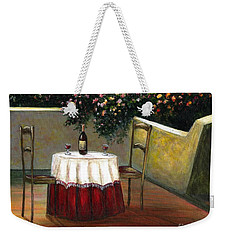 Italian Table Weekender Tote Bag
