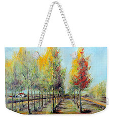 Italian Tree Farm Weekender Tote Bag