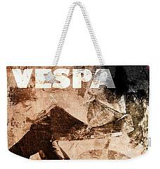 Italian Vespa Weekender Tote Bag