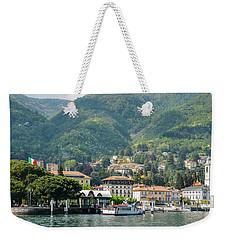 Italian Village On Lake Como Weekender Tote Bag