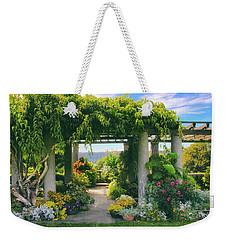 Italianate Terrace Weekender Tote Bag by Jessica Jenney