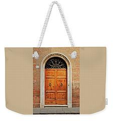 Italy - Door Fifteen Weekender Tote Bag