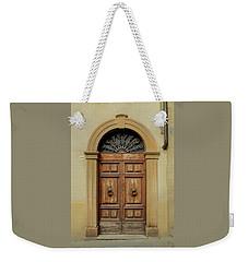 Italy - Door One Weekender Tote Bag