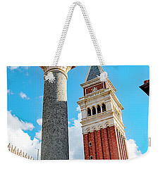 Italy Pavilion, Epcot, Walt Disney World Weekender Tote Bag by A Gurmankin